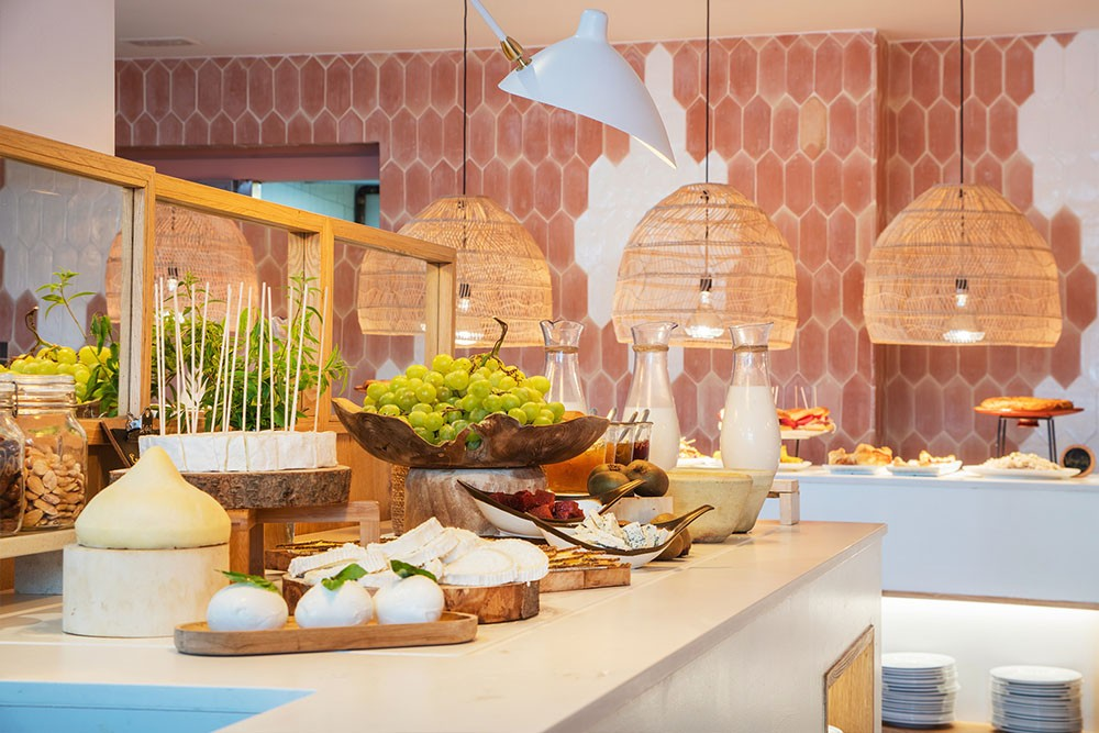 the 15th Boutique Hotel Buffet